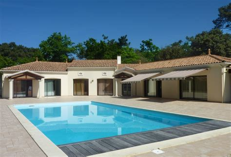 maison de luxe a vendre house for sale in la tremblade charente maritime superb contemporary house with pool tennis