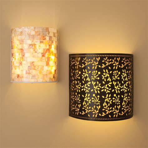 sparkle your home interiors with cordless wall lights