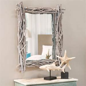 Miroir Bois Flotté : miroir en bois flott h 113 cm fjord maisons du monde ~ Teatrodelosmanantiales.com Idées de Décoration
