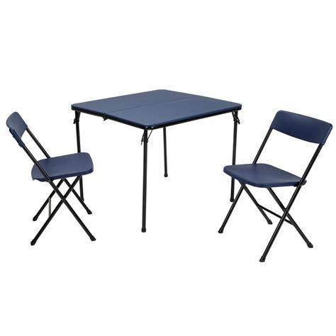 cosco mahogany folding table and chairs cosco 3 blue folding table and chair set