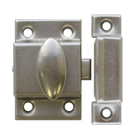 Kitchen Cabinet Hardware Richelieu by Richelieu Hardware Brushed Nickel Cupboard Latch Bp0210195