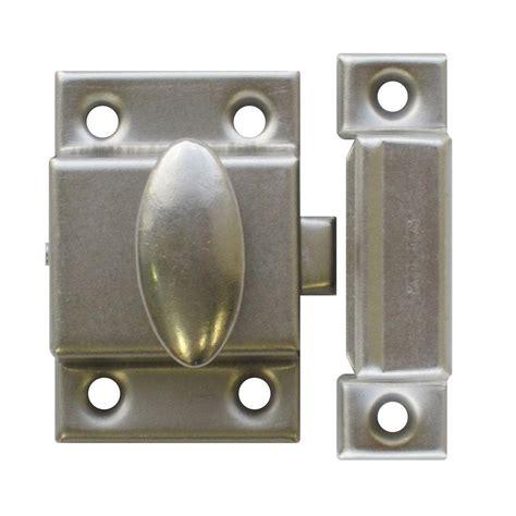 cabinet door latches richelieu hardware brushed nickel cupboard latch bp0210195