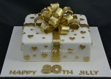 gold bow birthday cake cakecentralcom
