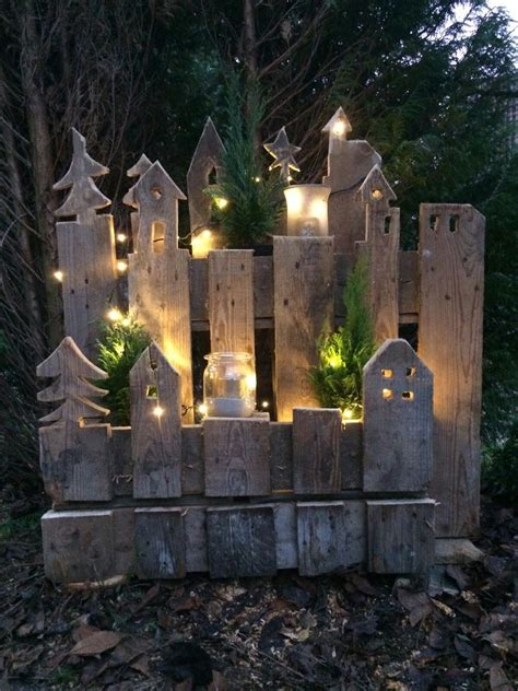 Weihnachtsdeko Gartenzaun by Mit Dieser Tollen Upcycling Idee L 228 Sst Sich Der