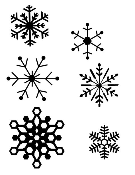 small snowflake template how to make a snowflake ornament in 15 minutes