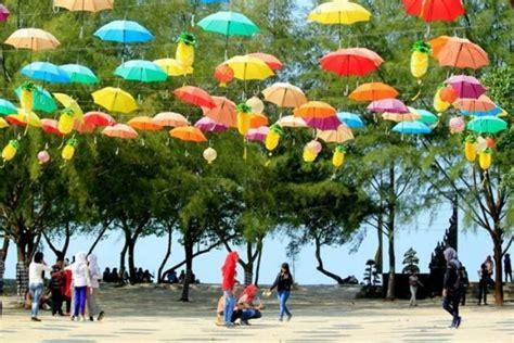 pantai bali lestari tempat wisata terindah  medan