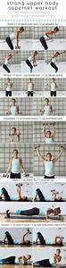 Upper Body Superset Workout With Weights
