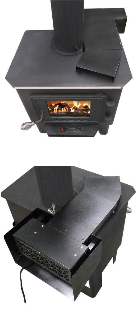 universal heat reclaiming wood stove blower wood stove