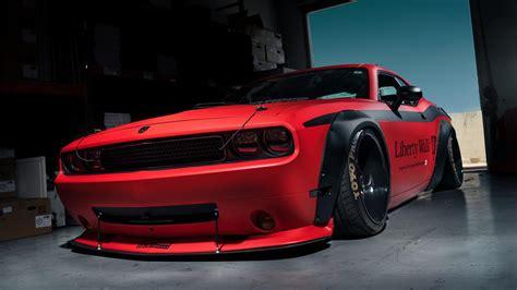 Dodge Challenger Tuning Car 4k Ultrahd Wallpaper