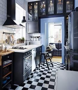 Cuisine Bleue Ikea : jak urz dzi w sk kuchni aran acje ciemnego i jasnego ~ Preciouscoupons.com Idées de Décoration
