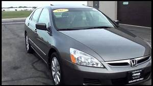 2007 Honda Accord Exl V6 Sedan Auto