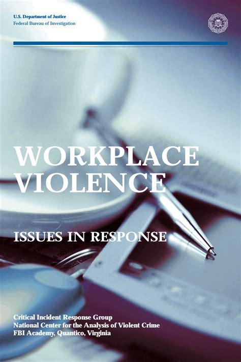 workplace violence fbi