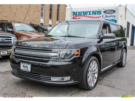 Newins Ford by 2013 Ford Flex Limited Ecoboost Awd In Tuxedo Black