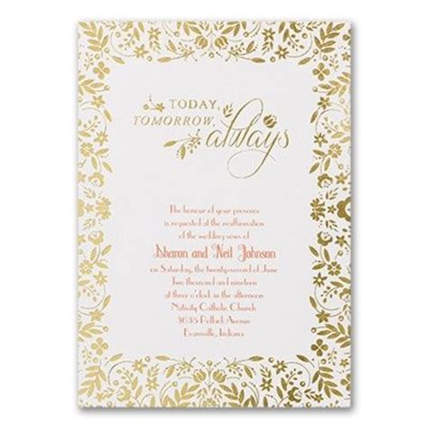 15 best images about vow renewal invitation on