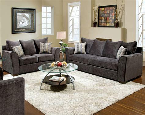 american freight sofa sets elizabeth charcoal sofa and loveseat set modern sofas