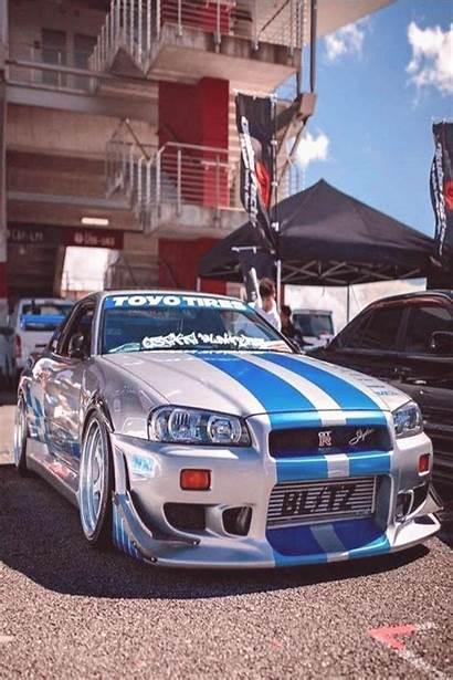 R34 Gtr Skyline Nissan Fast Gt Furious