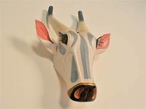 Tete De Vache Deco : t te vache indienne sculpt e vintage maison simone ~ Melissatoandfro.com Idées de Décoration