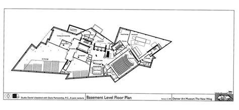 porsche museum plan basement level floor plan of denver art museum daniel