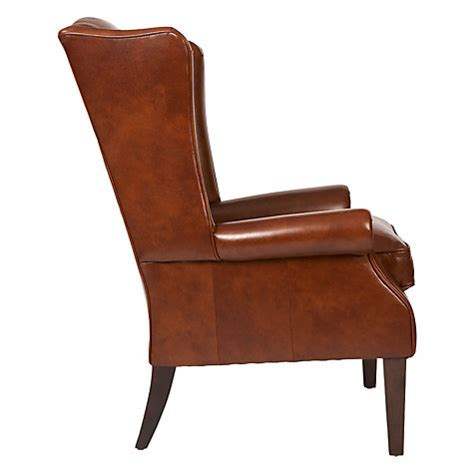 Leather Armchairs Lewis Buy Lewis Charles Leather Armchair Saddle