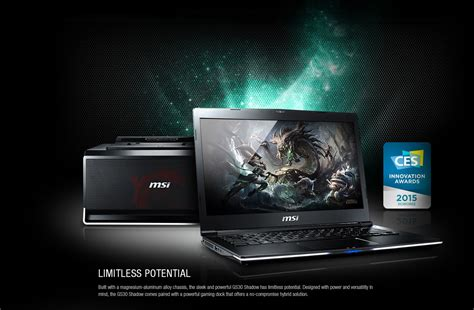 thin light gaming laptop msi gs30 shadow 001 thin and lite gaming laptop
