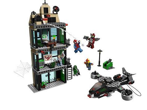lego marvel spider sets bugle daily super heroes showdown spiderman batman avengers attaque vs einsatz homem aranha migliori superheroes amazing