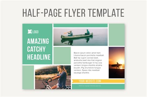 page flyer template templates creative market