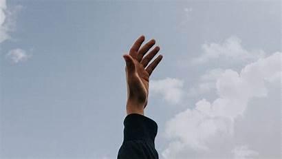 Sky Clouds 1080p Raise Fingers Freedom Salida