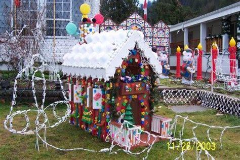 homemade outdoor christmas decorations decoration