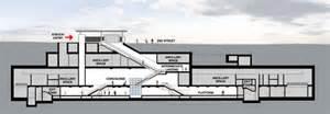 floor plan blueprint metro unveils station design for regional connector