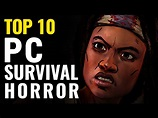Top 10 Best Survival-Horror PC Games - YouTube