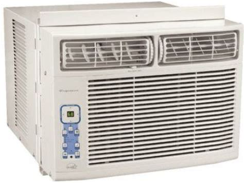 thermostat variable speed fan frigidaire fac126p1a btu compact room air conditioner with