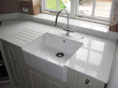 marble kitchen sink top carrara quartz worktops compac contemporary