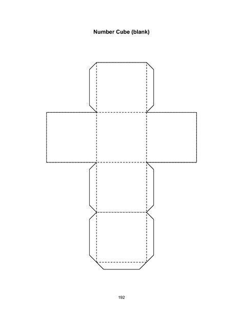 Cube Template 8 Best Images Of Cube Template Cube Template Printable