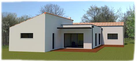 maison plain pied 4 chambres maison semi contemporaine plain pied 4 chambres à