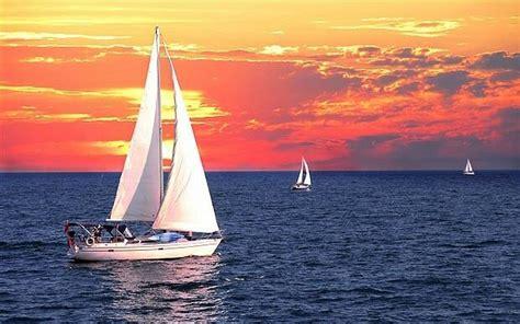 sail yacht sailboat sailing sea voyage handle boat