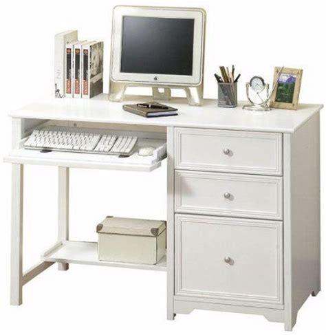 amazon small computer desk oxford computer desk with shelf 46 quot w white by home
