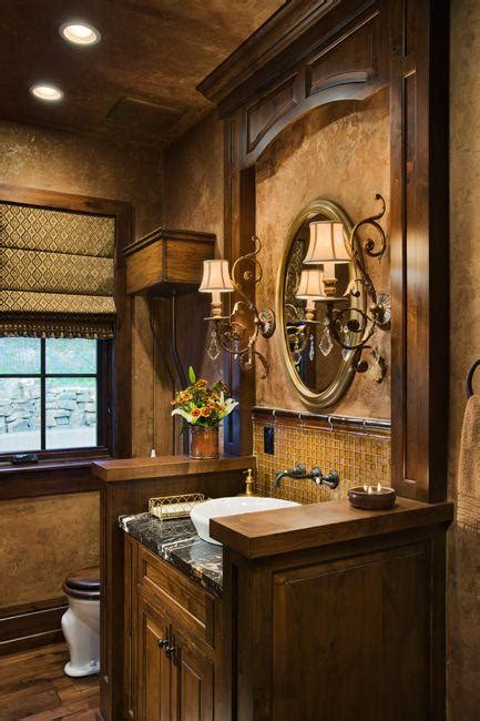 tuscan inspired bathroom design paperblog