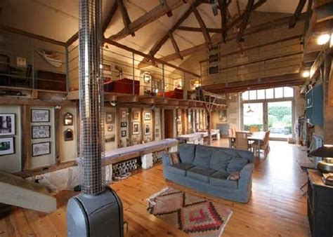 barn house decorating ideas converted cool living room homes simple converted barn