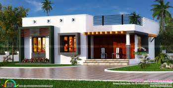 Simple Box House Plans Ideas by Box Type Single Floor House Kerala Home Design And Floor