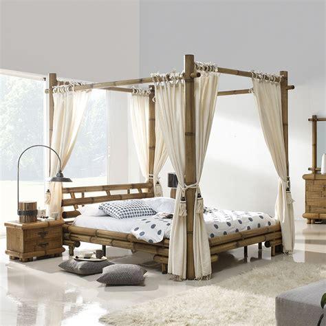 luminaire chambre lit baldaquin bambou bambu 3220