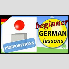 German Prepositions 1  Beginner German Lessons For Children Youtube