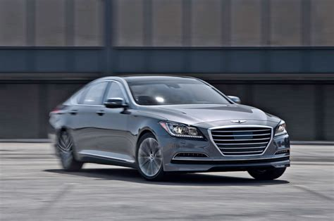 2015 Hyundai Genesis 3.8 Awd First Test