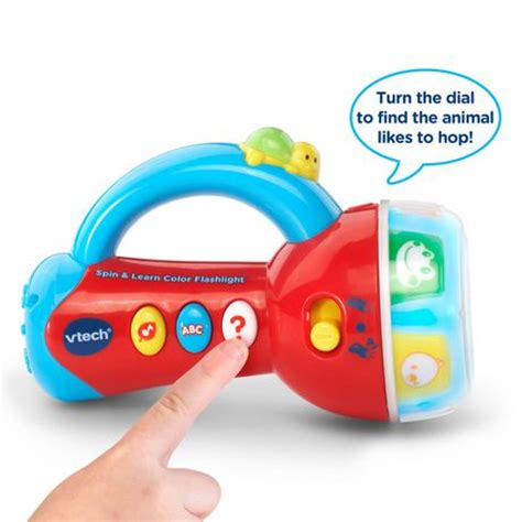 vtech spin and learn color flashlight vtech spin learn color flashlight version