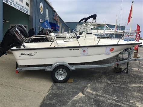 Whaler Fishing Boats by Boston Whaler 150 Montauk Sports Fishing Boats For Sale
