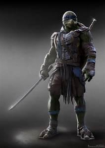 Concept art de Leonardo en Teenage Mutant Ninja Turtles ...