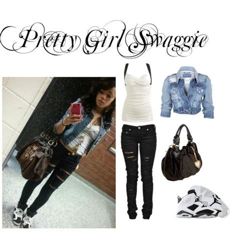Polyvore outfits for teenage girls swag - Google Search | thing to wear | Pinterest | Girl swag ...