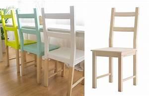 Chaise Design Ikea : diy personnaliser la chaise ivar ikea placards designs de blogs et sauces ~ Teatrodelosmanantiales.com Idées de Décoration