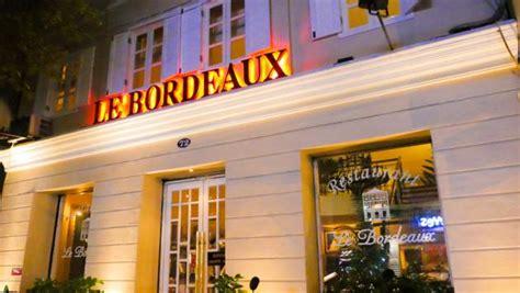 le bordeaux restaurant saigon review by compass