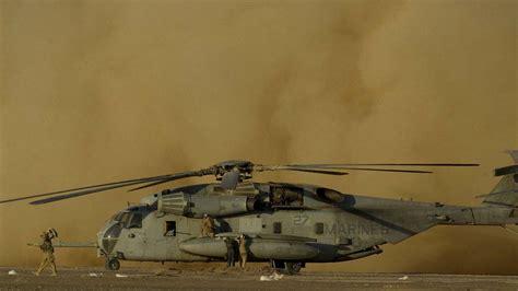 presumed safe four presumed dead as marine helicopter crashes in