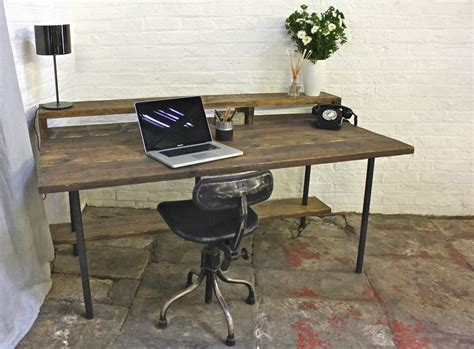 Reclaimed Industrial Style Desk  Home Design  Industrial. Rustic Knobs And Drawer Pulls. Traditional Coffee Tables. Console Table Wayfair. Cymax Desk. Dining Table And Chairs. Unique Desk Organizer. Computer Desk With Hutch Black. Burlap Table Cloth